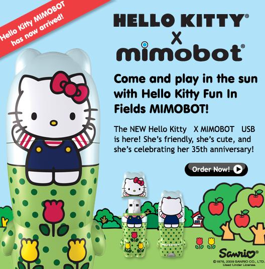 hello kitty by mimobot
