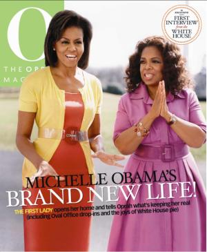 michele obama- O magazine